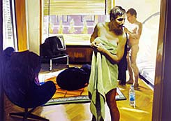 Painting by Eric Fischl