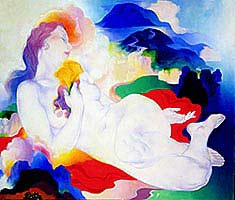 Painting by Stanton Macdonald-Wright
