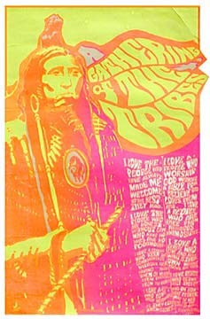Psychedelic poster, circa 1967