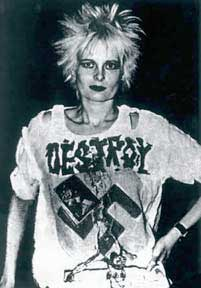 Photo of Vivienne Westwood in 1977