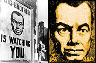 1984 big brother is still watching George orwell's 1984 - telescreen and the surveillance society behind winston's back the voice from the telescreen was still babbling away about pig-iron and the overfulfilment of the ninth three-year plan.