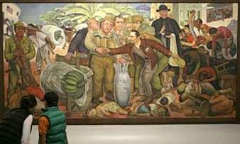 Diego rivera glorious victory for Diego rivera mural new york rockefeller